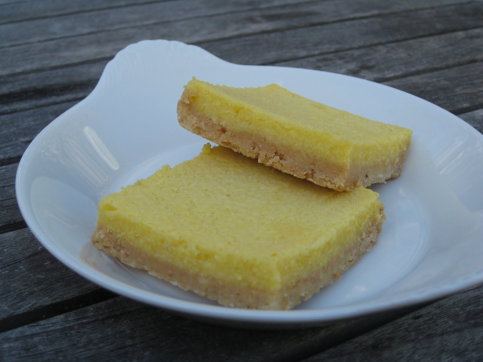 Dinner Tonight: Whole Lemon Bars