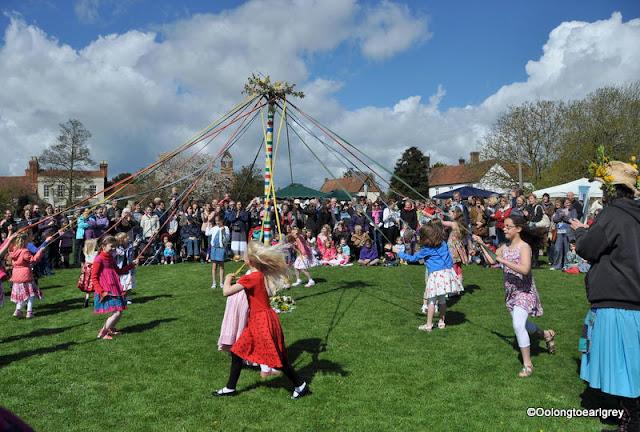 Maypole Dance, England