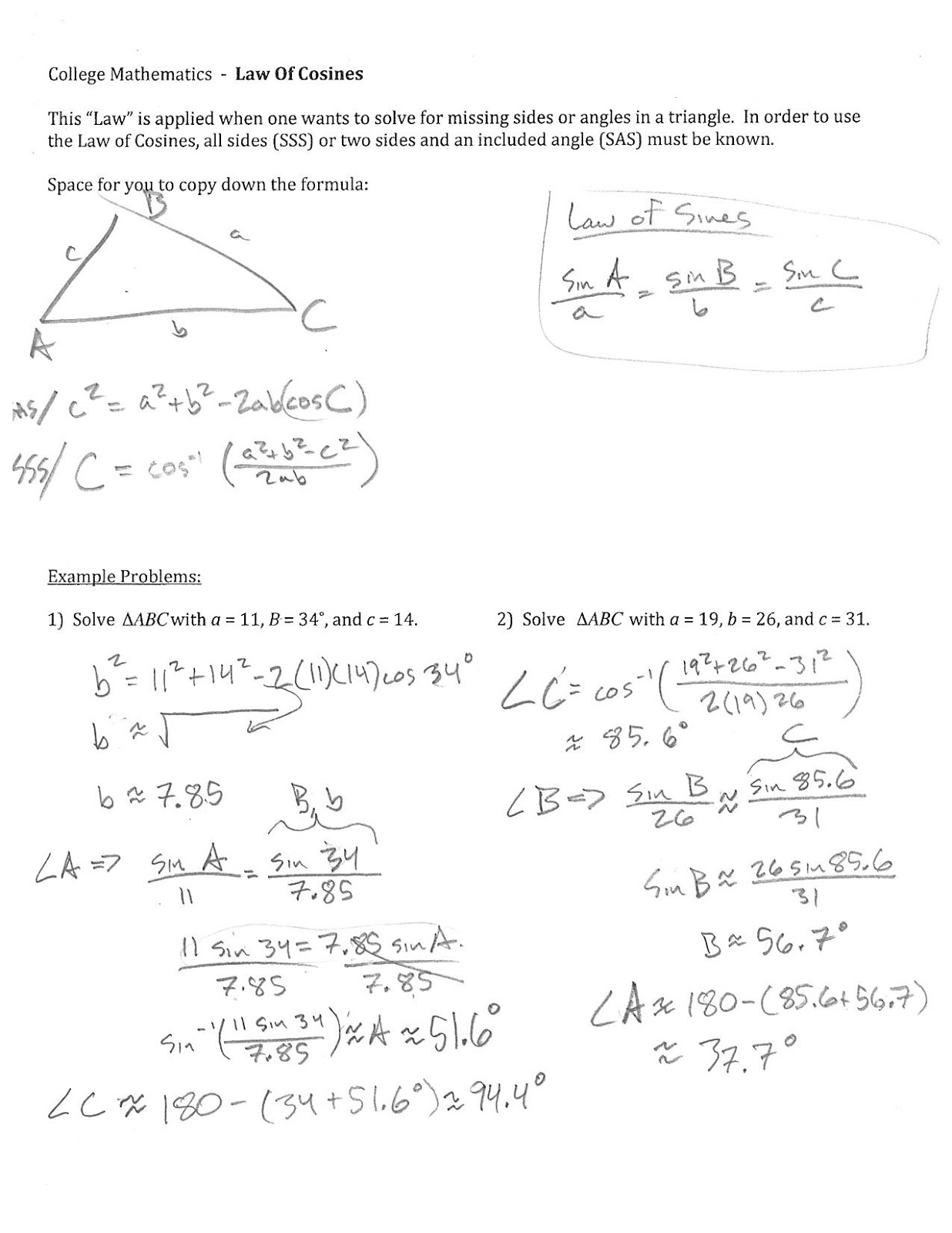 Math Problems College aprita – College Math Worksheets