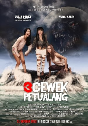 Sinopsis Film 3 Cewek Petualang - Horor Indonesia
