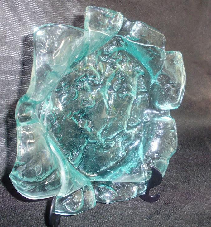 vidro moldado