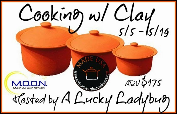 Enter the Cooking w/ Clay Giveaway. Ends 5/19