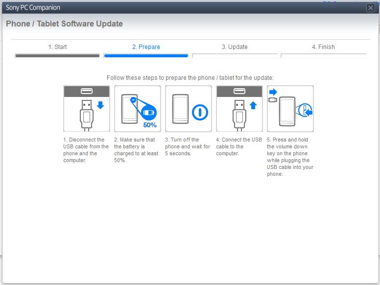 Sony Xperia Upgrade Screen 2