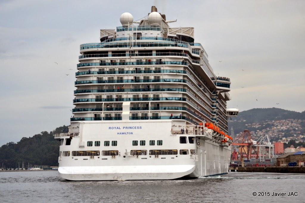 Fotos y videos de buques en vigo buque crucero royal - Puerto de vigo cruceros ...