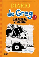 Ranking Mensual. Los 12 libros más vendidos. Número 2: Diario de Greg 9.