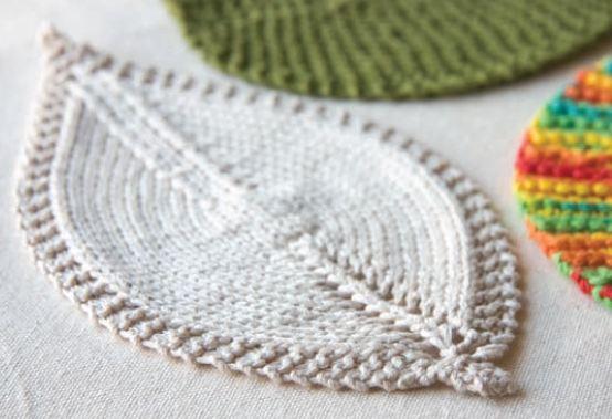 Super Modelli a maglia: le foglie IL06