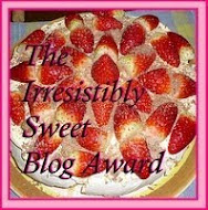 "My ""SWEET"" Award"