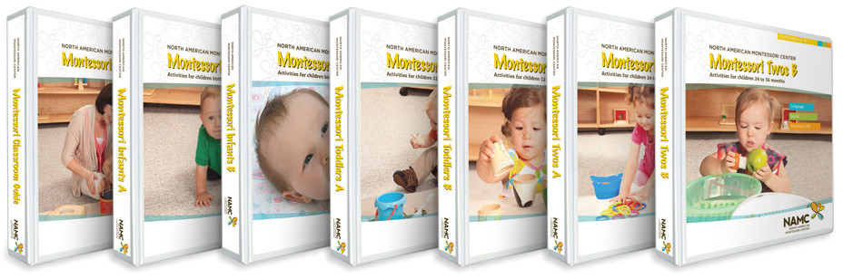 NAMC infant toddler montessori manuals