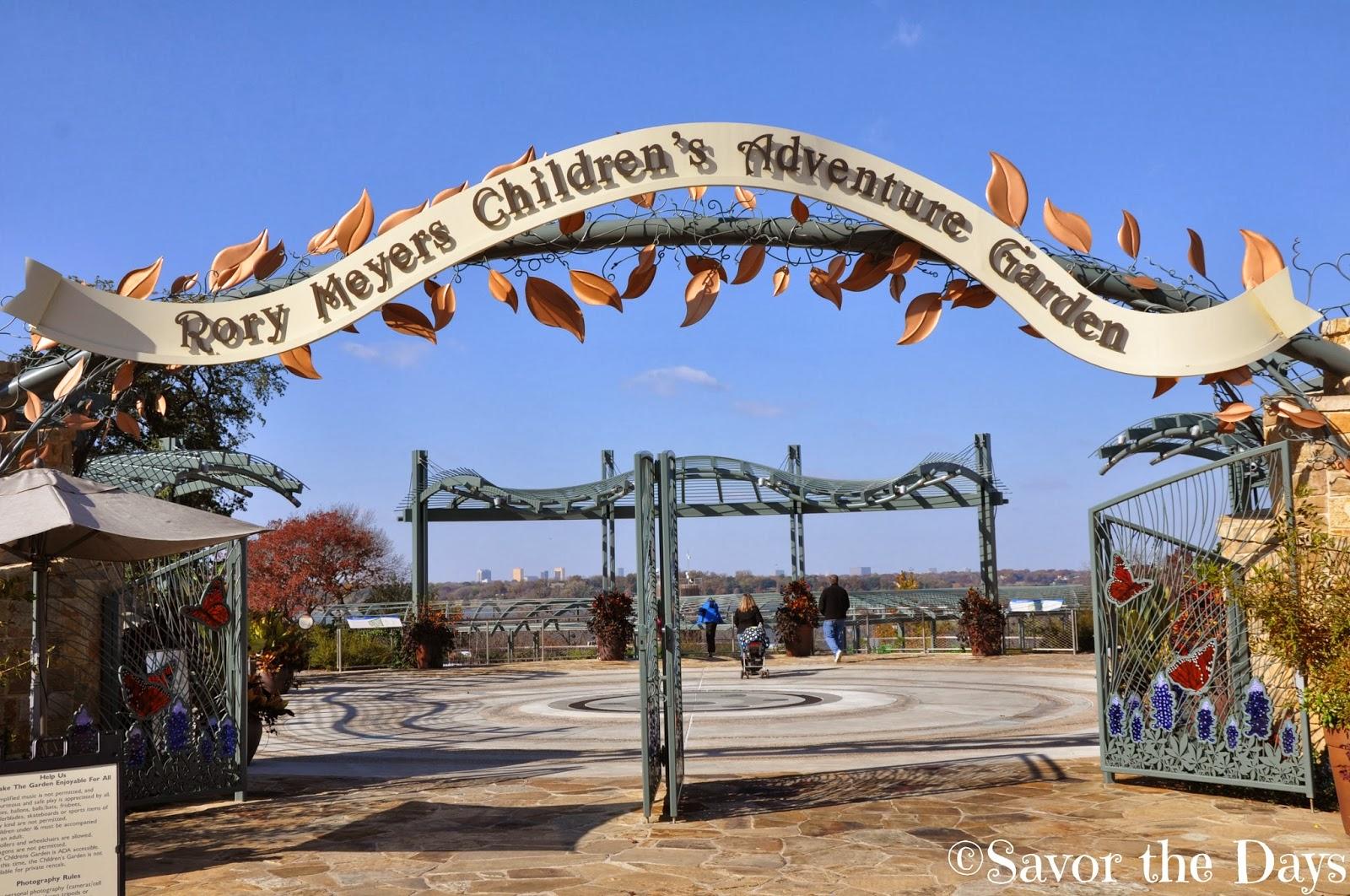 Savor The Days Rory Meyers Children 39 S Adventure Garden At The Dallas Arboretum