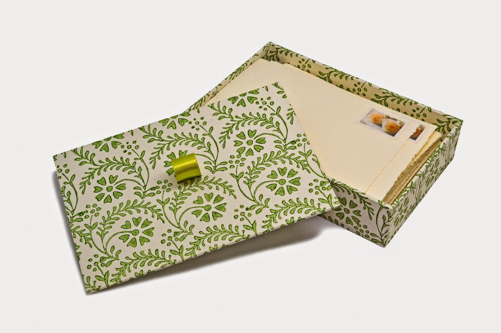 A bespoke gift box by Parvum Opus