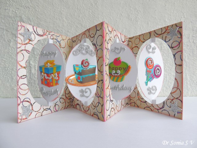 cards ,crafts ,kids projects pop up birthday card, Birthday card