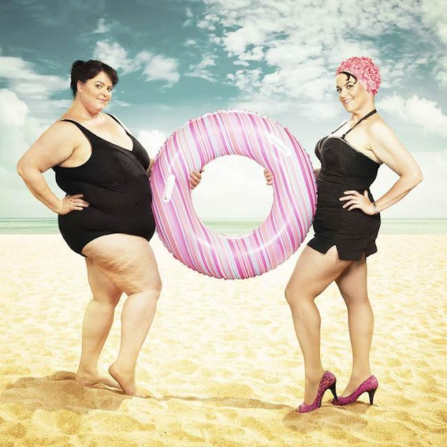 The Beth Project - Divertidas fotos celebram a perda de peso de uma mulher