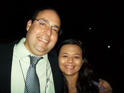 Claudio e Vivian Fraga