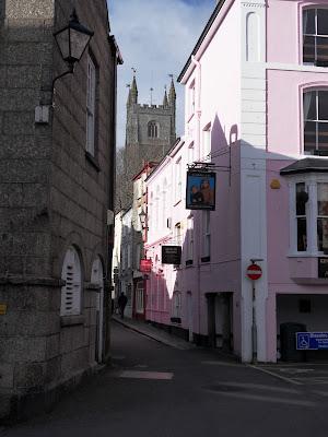 Fowey town, Cornwall