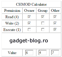 CHMOD calculator