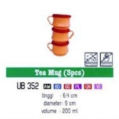Info & Harga Twin Tulip Tulipware 2014 : Tea Mug - Gelas Cangkir