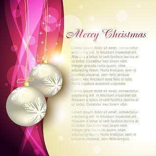 美しいクリスマスの背景 4種 beautiful christmas background vector イラスト素材2