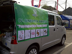 Pembagian Obat Cacing Gratis 6 Oktober 2012