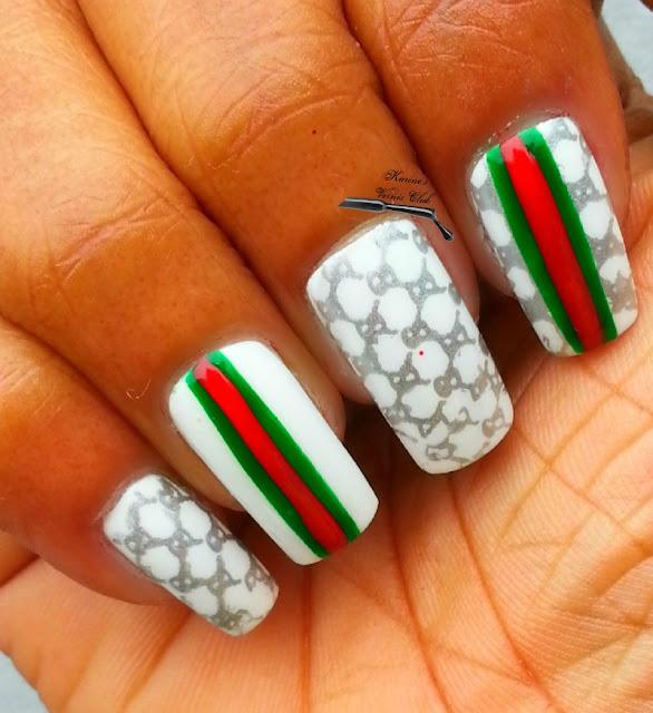 Karine\'s Vernis Club: Gucci Nail Art
