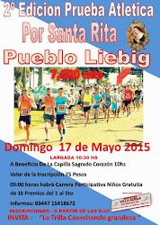 2º Prueba atlet. Por Santa Rita 2015