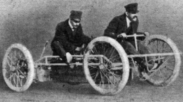 1901 Torpedo Racer | Riker Torpedo Racer | vintage cars | racing | way2peed.com