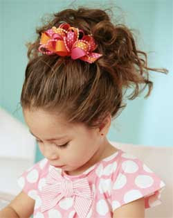 Children braided hairstyles for little girls