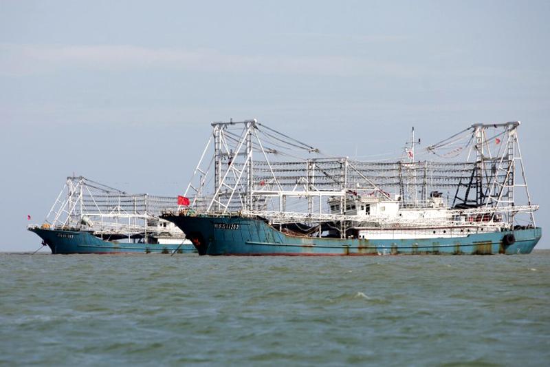 Kapal penangkap ikan China