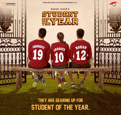 Student Of The Year First Look Poster