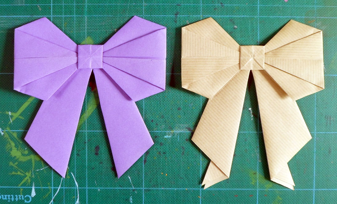 littletree designs littletree makesan origami bow
