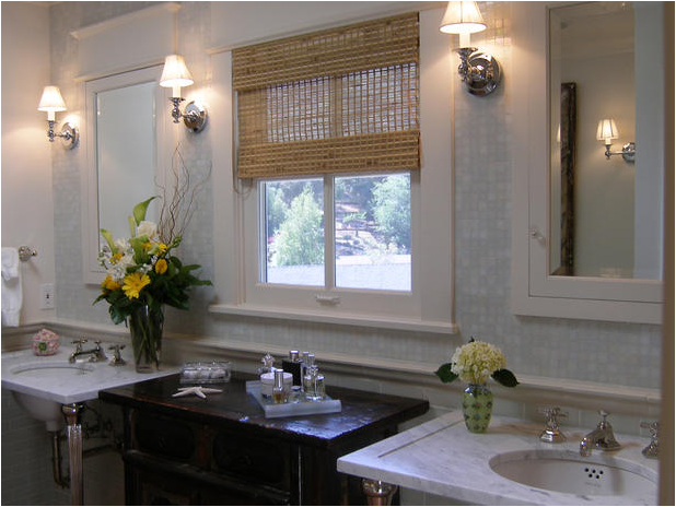 HGTV Bathroom Window Treatments