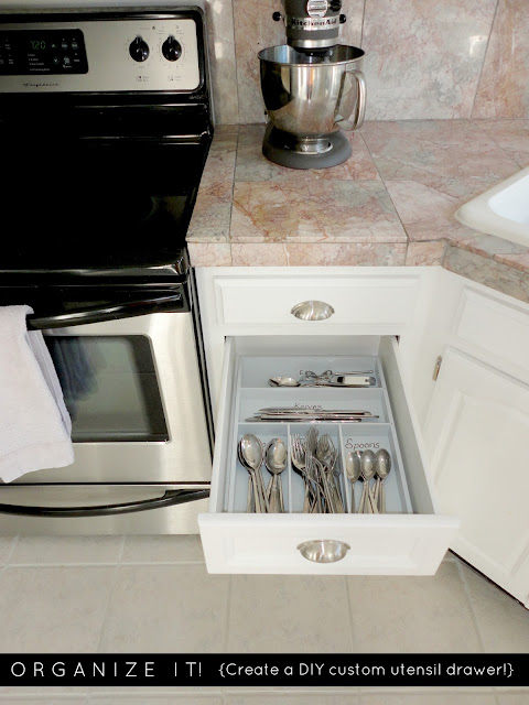 How To Organize: 10 DIY organizing solutions for your home. Really cool ideas!