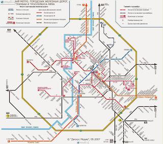 Схема общественного транспорта в Риме