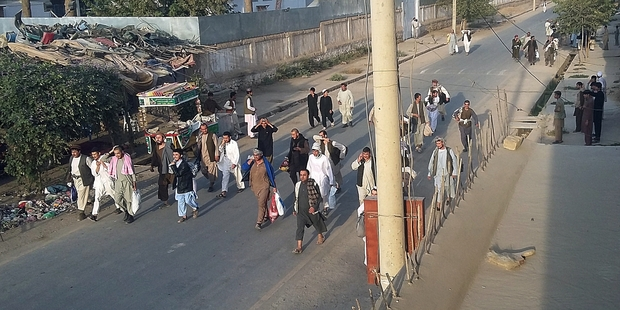Taliban insurgents control key northern city of Afghanistan