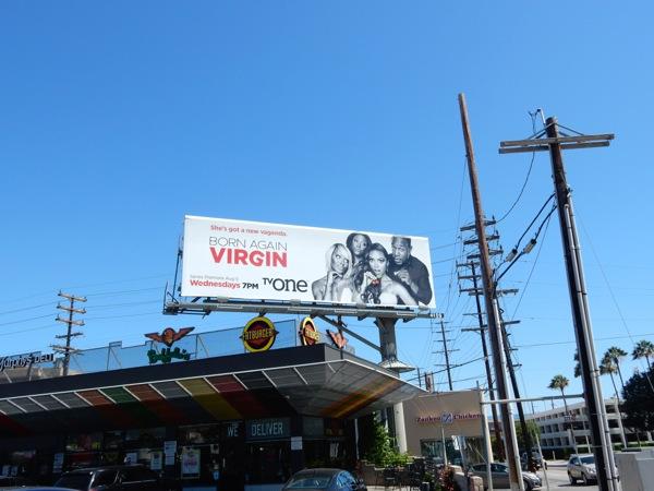 Born Again Virgin series billboard