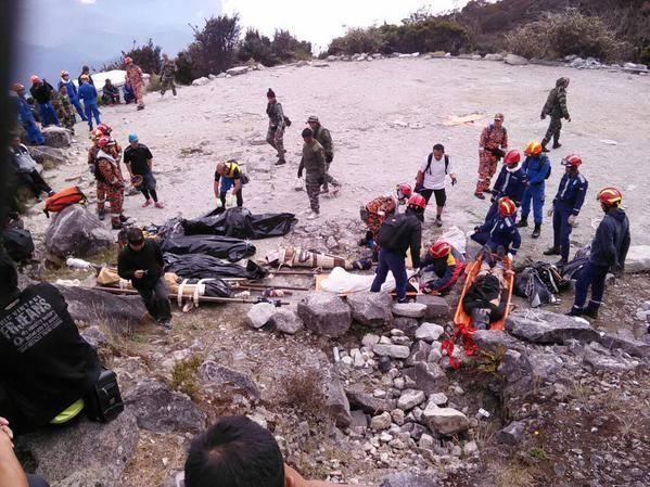 Gambar Mayat Pendaki Gunung Kinabalu