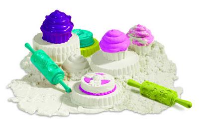 TOYS : JUGUETES - SUPER SAND  Pasteleria : Cupcakes | Juego de Arena  Manualidades Infantiles 2015 | Goliath 83240 | A partir de 4 años  Comprar en Amazon España