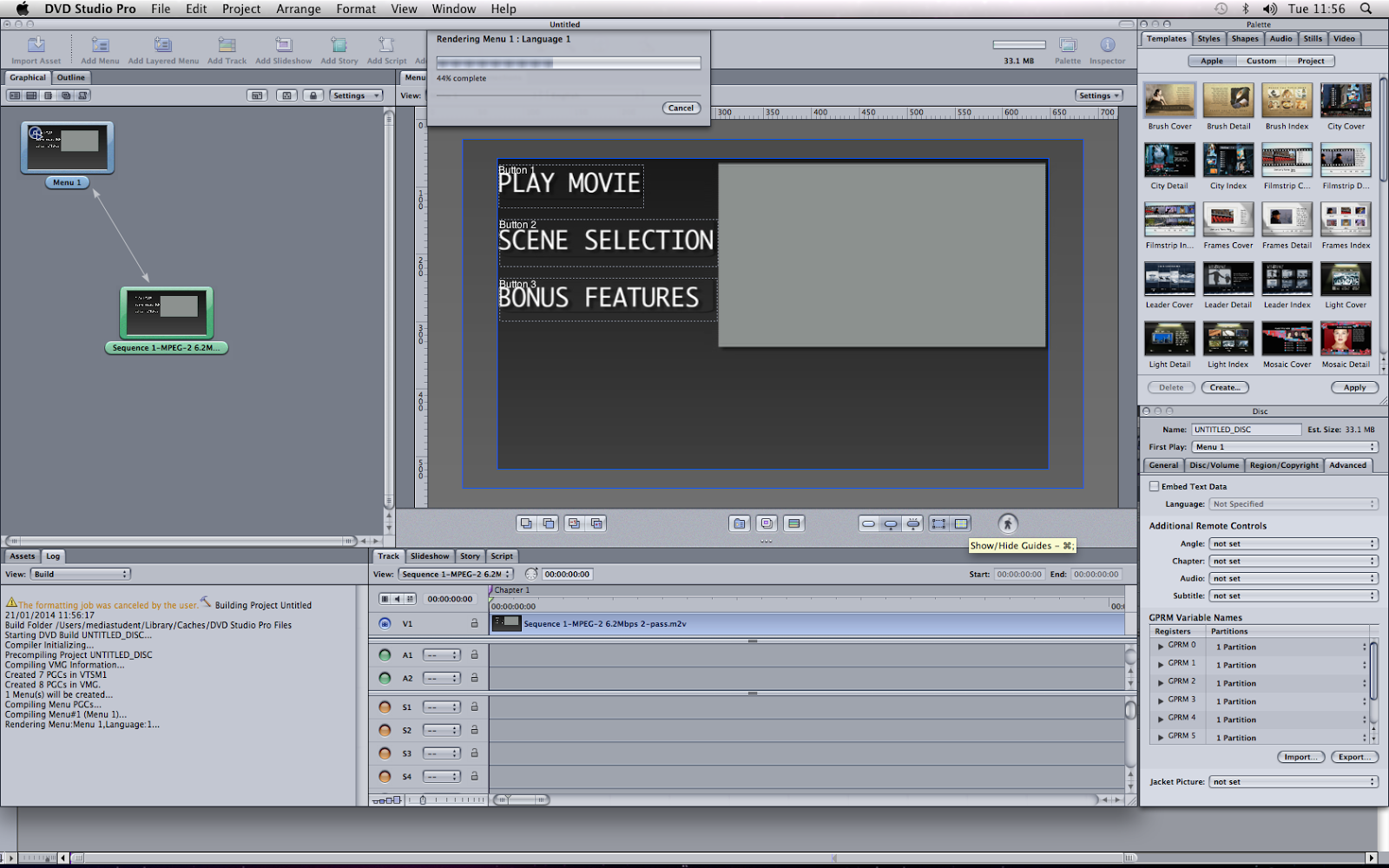 Dvd studio pro 4 2 1