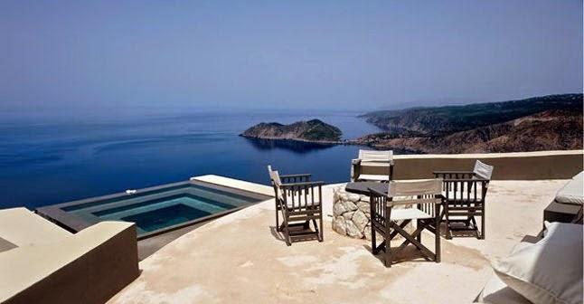 Les 10 plus belles maisons avec piscine au bord de la mer - Maison en bord de mer ...