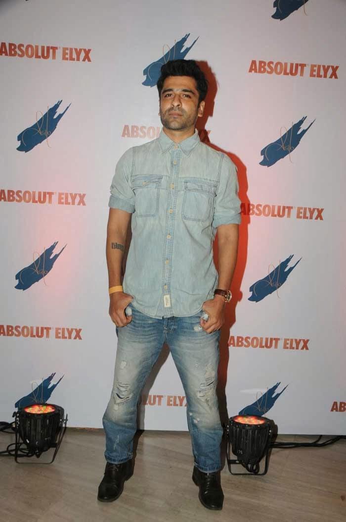 Eijaz Khan At Absolut Elyx party