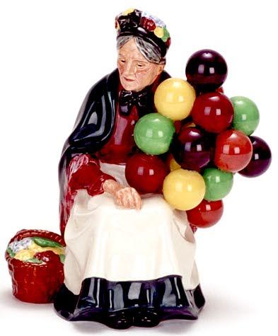 Balloon Lady Figurine