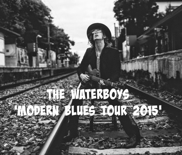THE WATERBOYS - Modern blues Tour 2015 - España