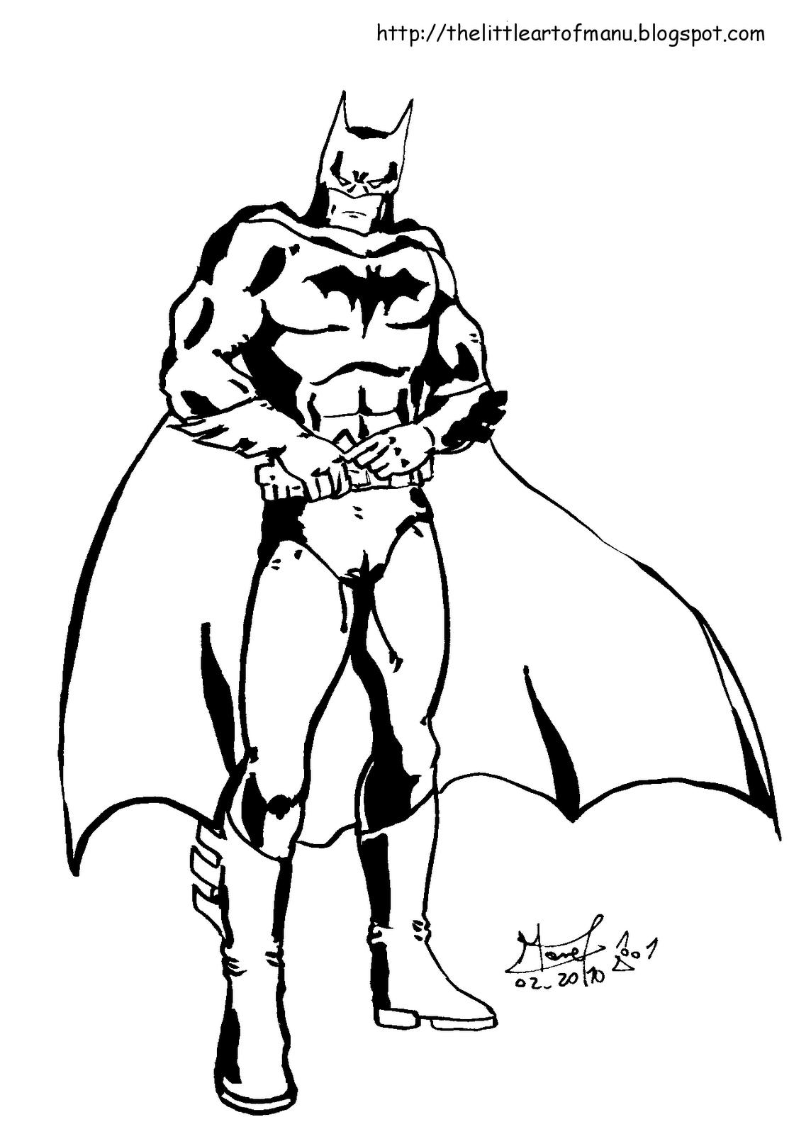 apprendre a dessiner batman