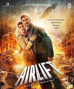 Airlift (2016) Worldfree4u - 400MB 720P BRRip Hindi Movie ESubs – HEVC - Khatrimaza