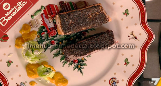 Tonno e Salmone in Crosta di Papavero di Benedetta Parodi