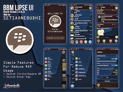 Download BBM Dual Mod Theme Lipse UI Super Fast Versi 2.8.0.21