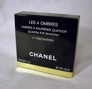 CHANEL LES 4 OMBRES оттенок 41 Fascination отзыв
