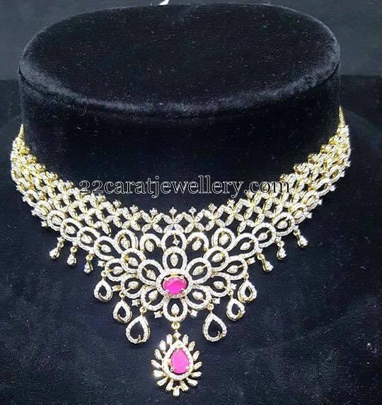4 to 5 Lakhs Diamond Sets Gallery