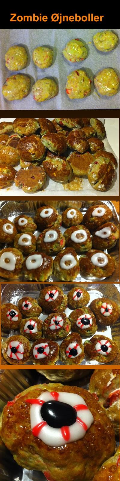 Zombue eye ball you can eat