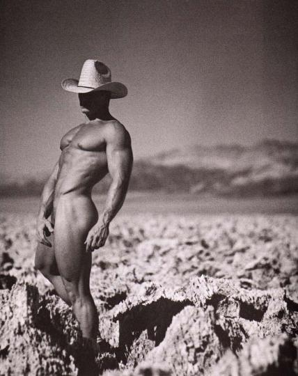 from Hugo b w gay cowboy pics