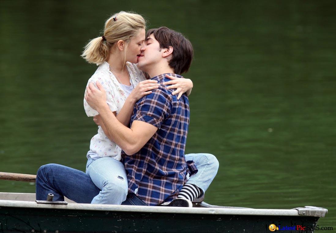 Kissing Scene in Boat